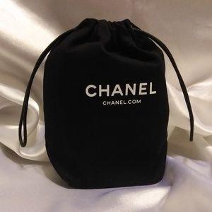 Handbags - BLACK DRAWSTRING TRAVEL COSMETIC BAG